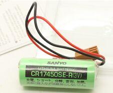CR17450SE-R  2200mAh 3V SANYO Battery Fr GE FANUC CNC A98L-0031-0012 PLC Battery