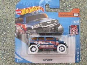 Hot Wheels 2018 Case F Treasure Hunt ROCKSTER blue HW Sports
