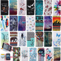 Phone Case for Samsung S7 Edge S6 S5 PU Leather Wallet Stand Cover Magnetic Flip