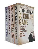 John Connor 4 Books Karen Sharpe Thriller Mystery Falling Playroom Phoenix New