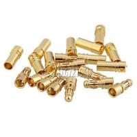 40PCS 20 Pairs RC 3.5mm Male/Female Gold-plated Bullet Banana Plug Connector Set