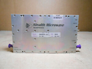 STEALTH MICROWAVE SM08896-41L LINEAR POWER AMPLIFIER - OPTIONS 13, 24