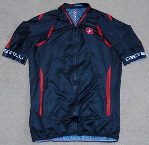 "VERY GOOD CONDITION CASTELLI CLIMBERS JERSEY. XL 39 - 41"" CIRCUMFERENCE"