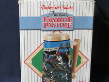 1990 Anheuser-Busch Salutes, America's Favorite Pastime Stein