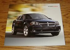 Original 2008 Dodge Avenger Deluxe Sales Brochure 08 2/7