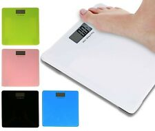 180KG ELECTRONIC DIGITAL LCD GLASS WEIGHING BODY WEIGHT SCALES SCALE BATHROOM 84