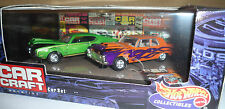 HOTWHEELS (BX 78)...CAR CRAFT...'69 OLDS & '63 PLYMOUTH...BRAND NEW