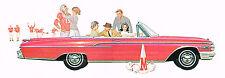 1962 Mercury MONTEREY / COMET Brochure / Flyer / Catalog: COLONEY PARK WAGON,