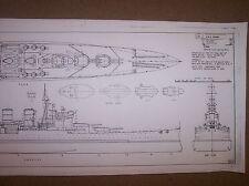 HMS RENOWN  model boat plan