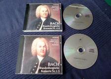 2 CDs Max Pommer BACH Brandenburgische 1-6 Güttler Suske Leipzig 1994 GDR DDR