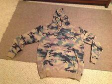 champion mens hoodie sweatshirt mens XLT camo design with left chest champion