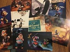 Lot of 10 Walt Disney Classic Collection Wdcc Promotional Postcards New