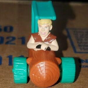 1994 The Flintstones Movie Vintage Toy Mini Car BARNEY RUBBLE