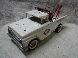 Vintage Tonka 1/18 Pressed Steel 60's Ford AA Wrecker Tow Pickup Truck