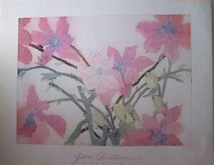 "Jenni Christensen MAGNOLIAS II  (25"" x  30 1/2"")  Beautiful Soft Floral"