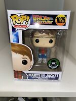 Funko Pop! Marty In Jacket Back To The Future #1025 + Pop Protector