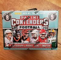 2020 Panini Contenders NFL Football Blaster Box BURROW, Herbert, TUA HOT!!!!!