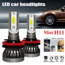 2x High Power H8/H9/H11 110W 26000LM LED Headlight Globe Beam Bulbs 6500K White