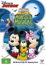 Mickey Mouse Clubhouse: Mickey's Monster Musical NEW R4 DVD