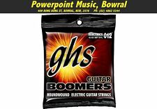 GHS DYL Boomers 12-52 Electric Guitar Strings Wound 3rd Gauge Brand New!