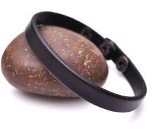 Classic Fashion Genuine Leather Bracelet Cuff Wristband Single Wrap Men Women