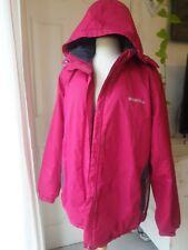 Mountain Warehouse Snow Pink Outdoor Jacket Ladies Coat Winter Size 20 Hoodie