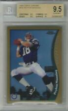 1998 Peyton Manning Topps Chrome RC... BGS 9.5 Gem Mint w/all 9.5 & 10 subs