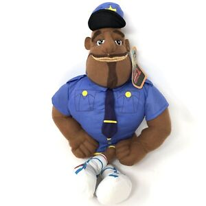 """Cloudy With A Chance of Meatballs 2 - Earl Devereaux Cop Plush 15"""""""