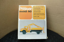 PREISER HO 1:87 MERCEDES BENZ LA 1924 TIPPER LORRY UN MADE KIT BOXED OO