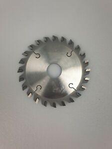 German Circular CONICAL SCORING SAW BLADE 105 X 3.2-4.4/2.2 X 22 X Z24 CON FLAT