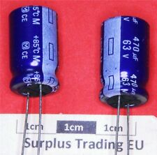 Panasonic Radial Electrolytic Capacitor 470µF 63V 85°C (Pk of 4)