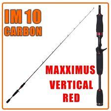 Zeck Fishing-vertic 1,80m a 40g 1 parte verticalrute baitcastrute canna da pesca
