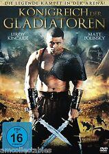 DVD - KÖNIGREICH DER GLADIATOREN - NEU/OVP