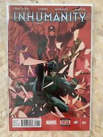 Inhumanity #1 & 2  Marvel Comics Matt Fraction Oliver Coipel Inhumans Medusa