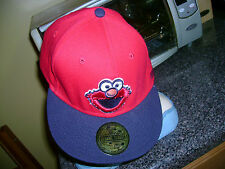 ELMO SESAME STREET OFFICIALLY LICENSED 3 D FITTED HAT CAP
