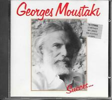 GEORGES MOUSTAKI - Succes... CD Album 16TR West Germany 1985 (POLYDOR)
