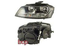 AUDI A3 2008-2012 HEADLIGHT HEADLAMP PASSENGERS SIDE LEFT N/S LH NEW