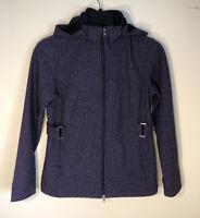 Free Country Women's SM Full Zip Faux Fur Lined Jacket W/Zip Off Hood EC