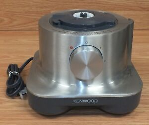 Genuine Kenwood (FPM250) Gray Countertop Blender Motor Base Only **READ**