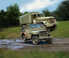 M34 Tactical Truck + Off-Road Vehicle, Revell Militär Bausatz 1:35, 03260