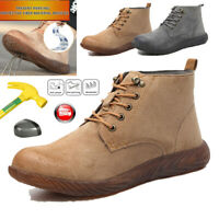 Men's Safety Work Shoes Indestructible Waterproof Steel Toe Boots Sport Sneakers