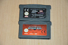 Lot 2 games nintendo gameboy advance spiderman 1 and 3-gba