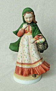 """HOLLY HOBBIE FIGURINE """"MEMORIES OF GOLD"""" CLASSICS COLLECTION LIMITED EDITION EUC"""
