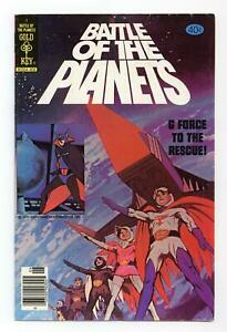 Battle of the Planets #1 FN+ 6.5 1979 Gold Key