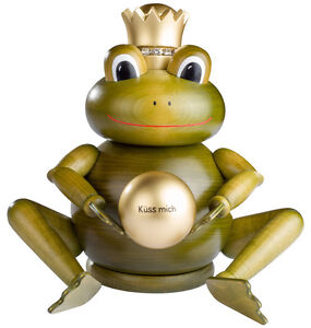 KWO Räuchermann Froschkönig Frosch-König +24 Räucherkerzen 21799 Räuchermännchen