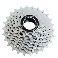VG Sports 8 Speed 11-25T/26T/28T Road Bike Silver Cassette fit Sram Shimano HG50