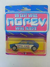 PORSCHE 911 CARRERA S POLIZEI police voiture 1//43RD argent//vert version N2187 ^ ** ^