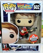 Marty McFly + GUITAR Canadian Convention Funko POP Figur Back to the Future 602