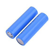 2x 18650 Rechargeable Li-ion Vape Battery 2000mAh 3.7V Unprotected Flat Top Well