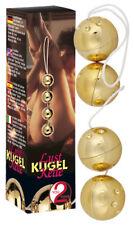 Palle e palline D'Amore Catena di sfere dorate oro Sensual -YOU2TOYS